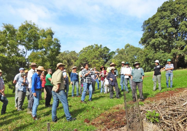 Free biodiversity field days prove popular with landholders