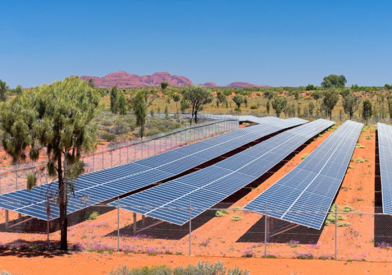 Construction completed on Australia's largest rollout of solar power in remote communities