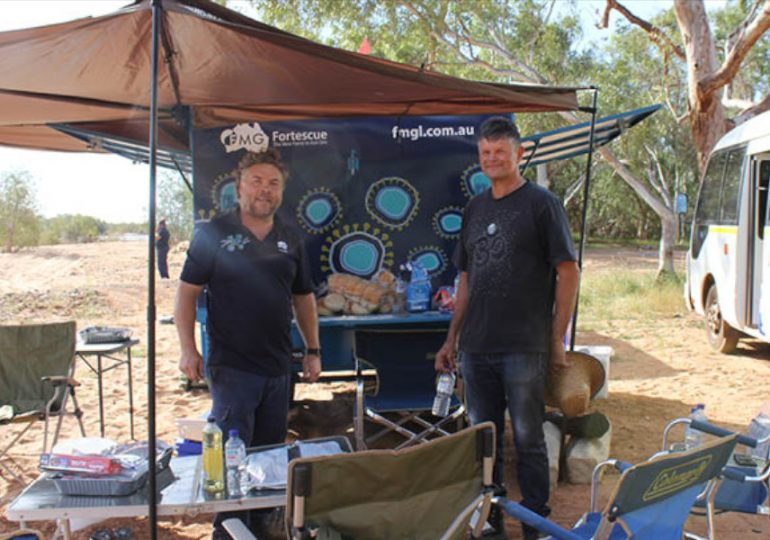 Fortescue's Recruitment Trailer hits the road for the first time