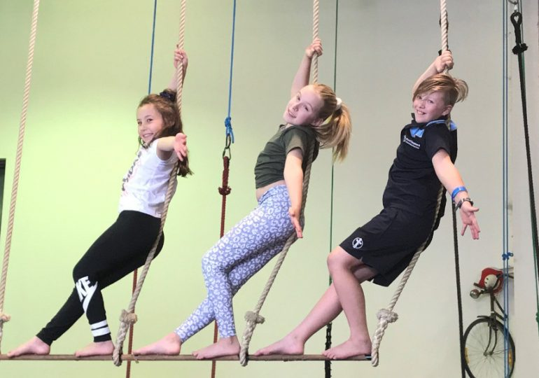 The art of the circus: cartwheeling kids to better mental health