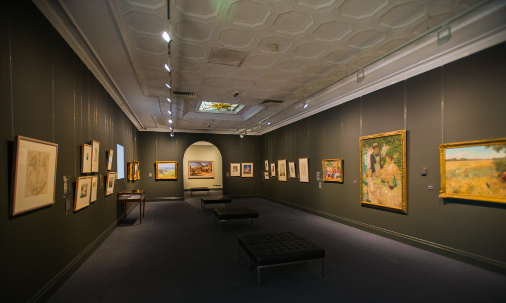 Bet you didn't know that Toowoomba is home to one of the country's most significant art collections?