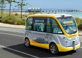 Intellibus driverless bus public trial begins in Busselton