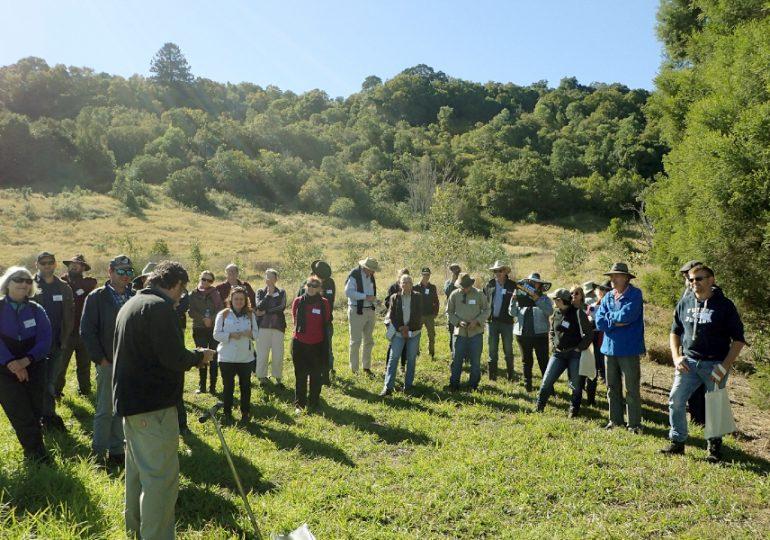 Riparian restoration field day for rural landholders