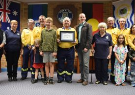 120 years of RFS volunteering recognised by Lismore Mayor