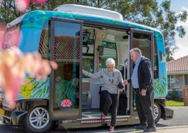 Busbot driverless shuttle hits phase 2 in Toormina NSW