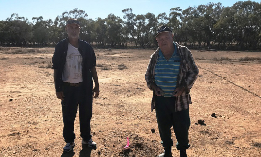 Aboriginal campsites protected from erosion following works