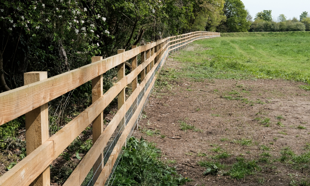 Perimeter fencing for NT reserve