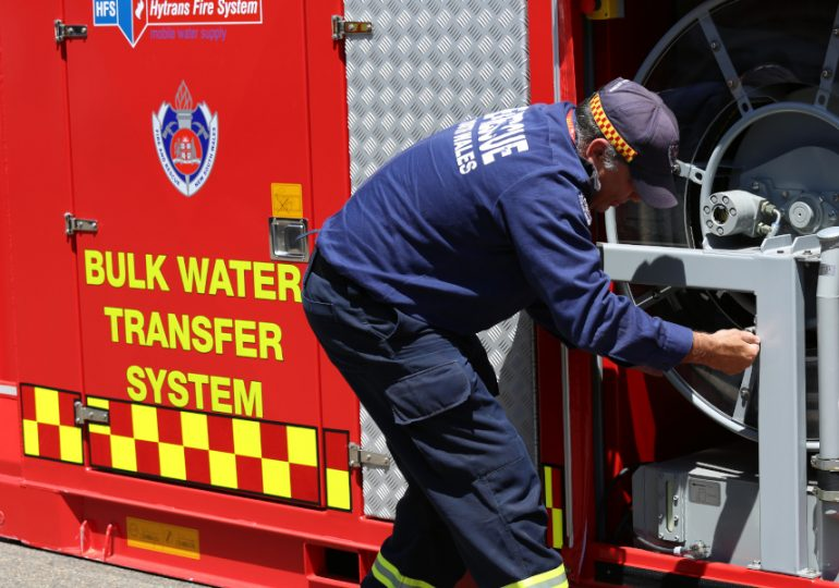 Sydney pump trucked in to douse recycling centre fire