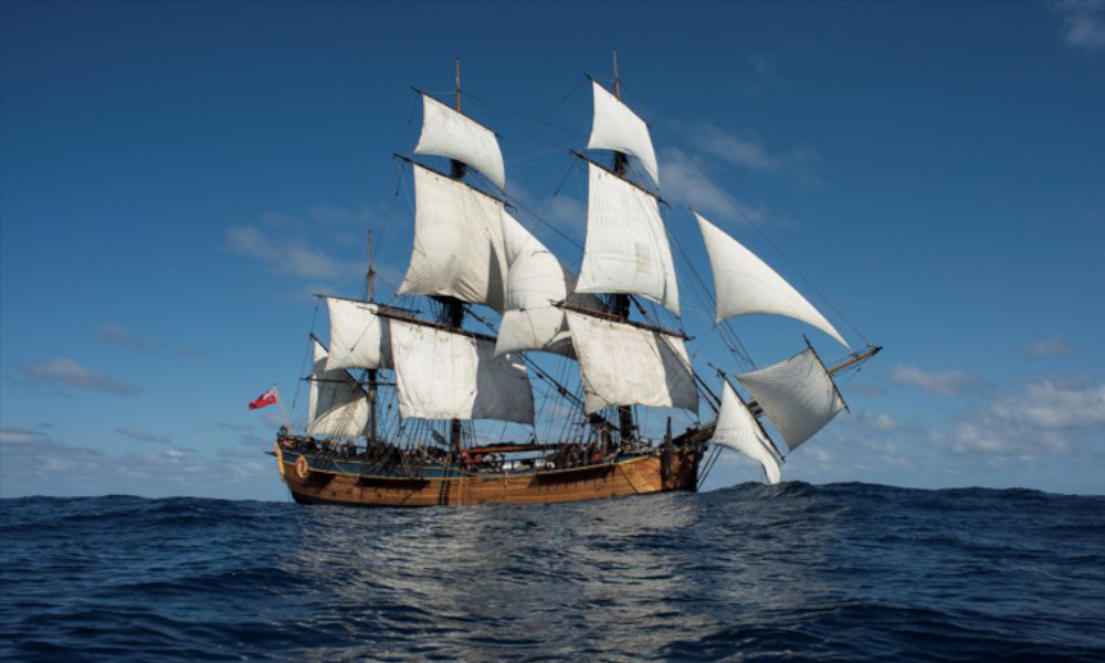 Endeavour Voyages as part of Encounters 2020 – Join us on a sailing adventure and be part of maritime history