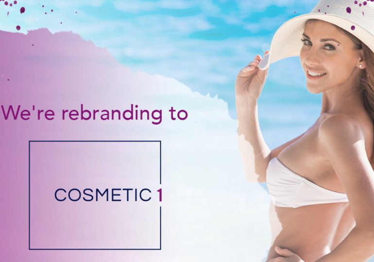 Popular Australian cosmetic clinic's exciting rebrand to Cosmetic1