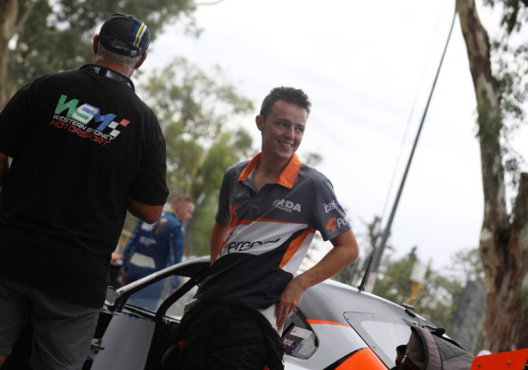 Aussie racing car talent tackles first Bathurst race
