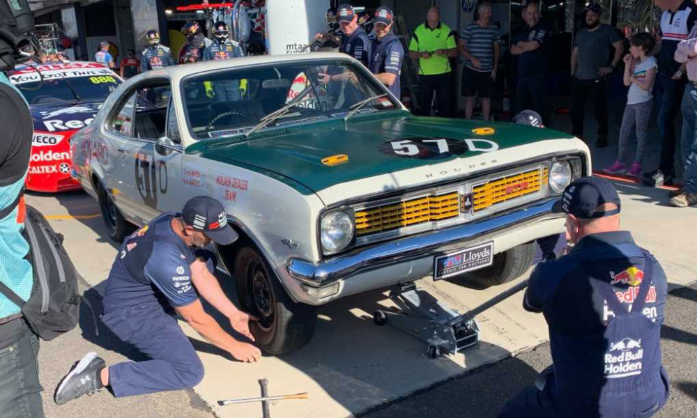 Old Holden Race Cars reunite to celebrate 50 years at Bathurst