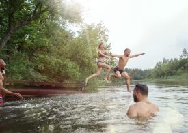 Australia Day increases risk of river drownings