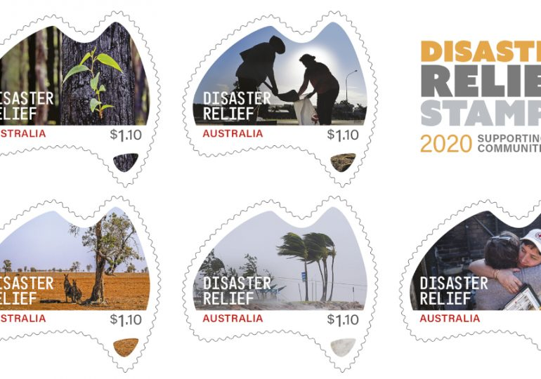 Australia Post to release stamps for disaster relief