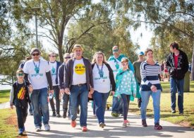 Mildura family urges community to get active and support people living with dementia