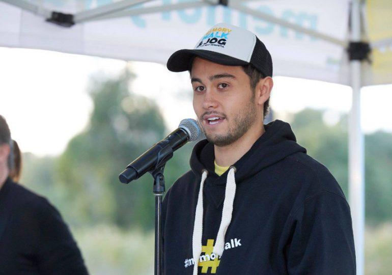 Neighbours star is 'ready, set, go' to MC Hobart's Memory Walk & Jog 2020