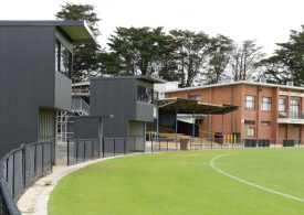 New sporting facilities to include female friendly change rooms