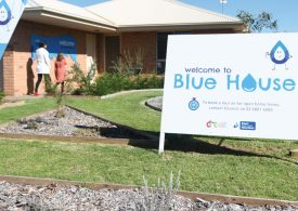 Blue House Dubbo demonstrates the latest in water efficiency