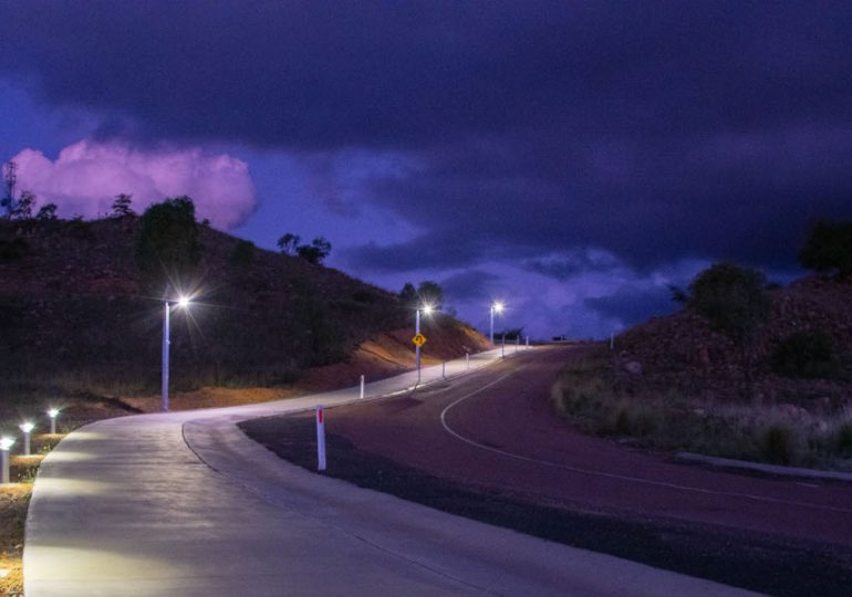 New solar lights for Towers Hill