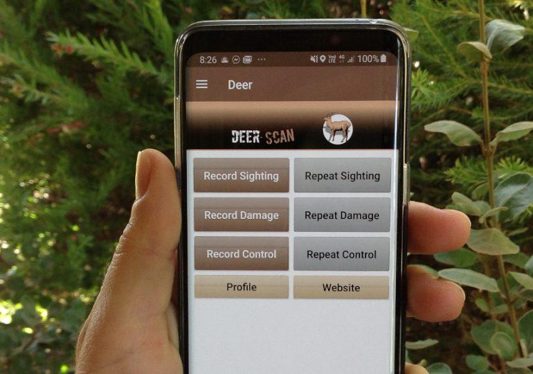 Community-led deer monitoring via DeerScan