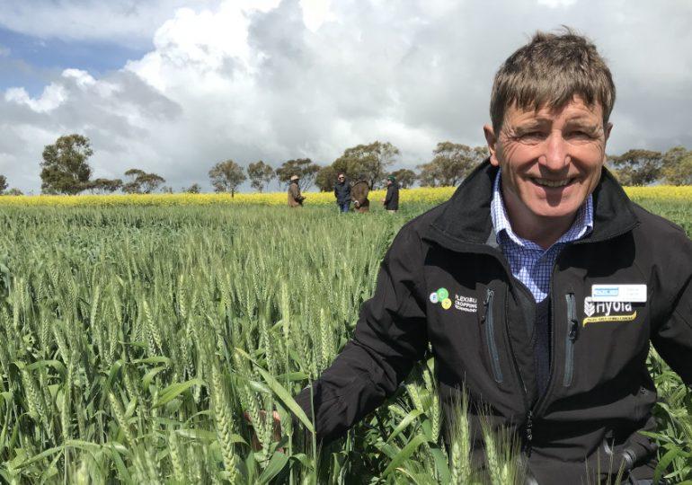 Life-long farmer helps lead agri-tech to the skies