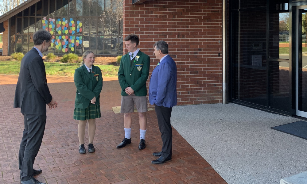 Certainty and confidence to flow with Year 12 offers under recommendation program