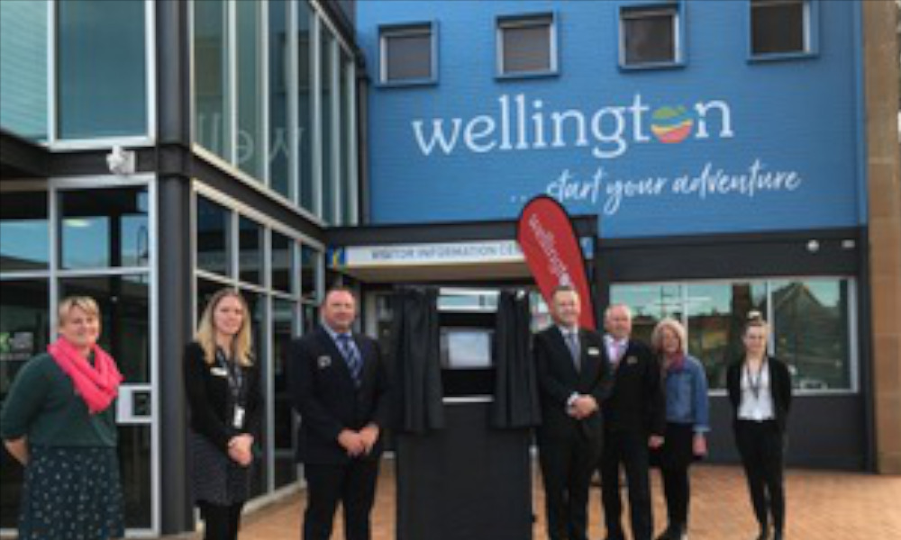 Celebrating Wellington's new visitor information centre