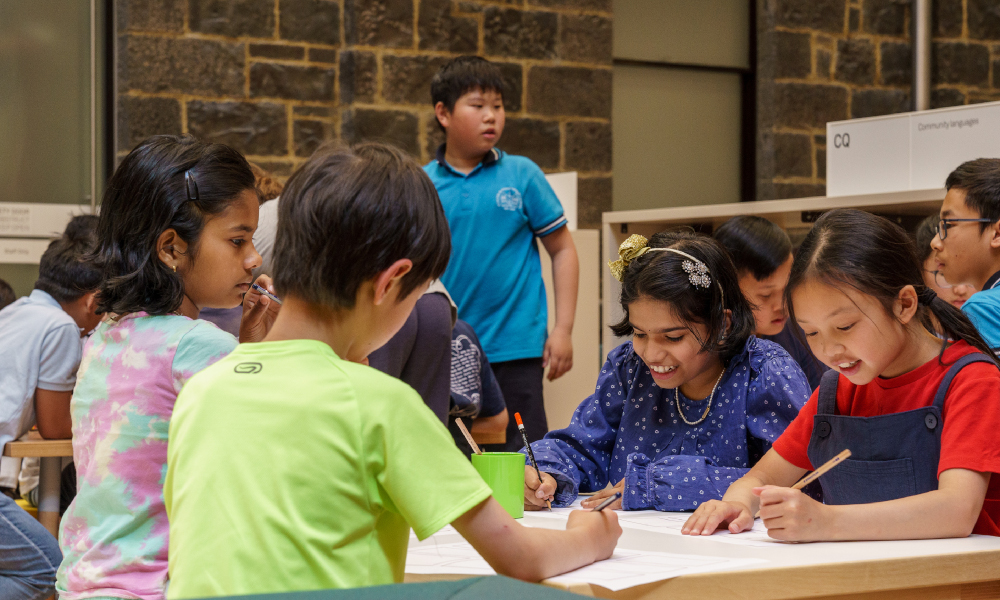 Banish school holiday boredom with State Library Victoria
