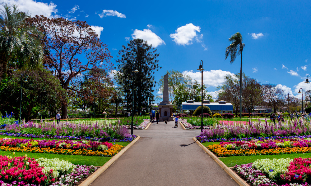 Floral Friday to mark the official start of the Toowoomba Carnival of Flowers