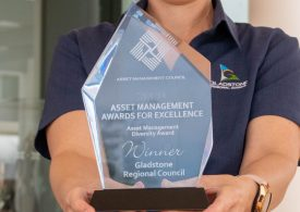 Gladstone Regional Council takes another positive step forward with win at Asset Management Excellence Awards