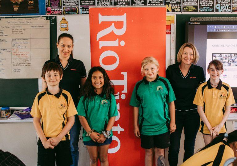Rio Tinto Future Minds Accelerator delivers future skills education to kids in regional Australia