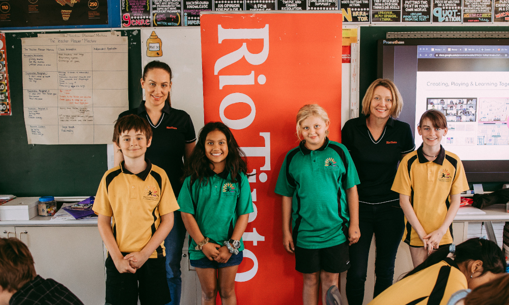 Rio Tinto Future Minds Accelerator delivers future skills education to kids in regional Australia