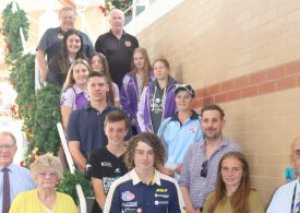 Junior sport representatives supported by Ray Harvey Foundation