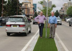 CBD turf works to be completed