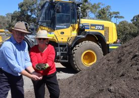 Council's compost product launched
