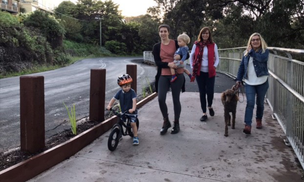Bega's Lake Street Shared Path now open