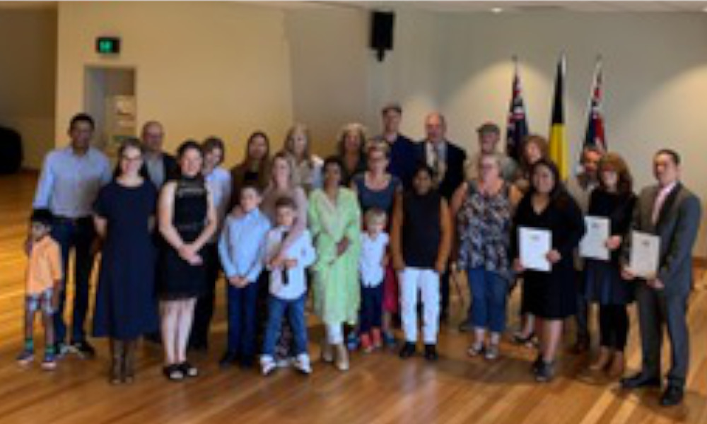 New Australian citizens welcomed to the shire