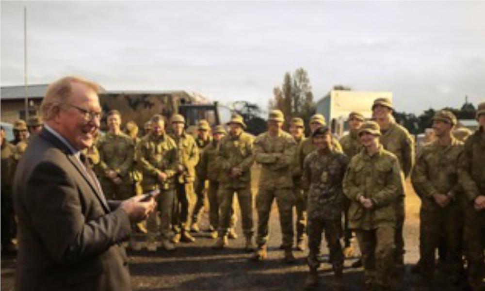 Goulburn farewells RMC Cadets