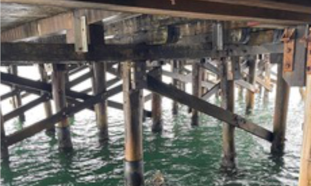 Another step towards wharf restoration
