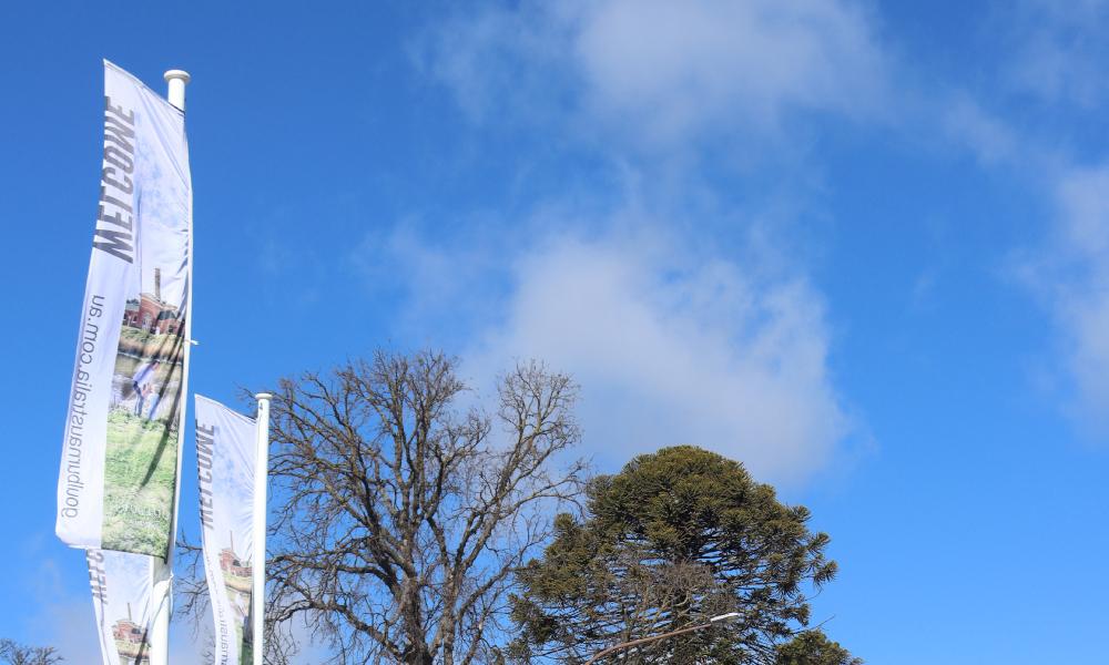 Flying the flag for Goulburn
