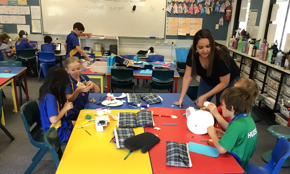 Pre-service teachers gain valuable classroom experience through volunteer opportunities
