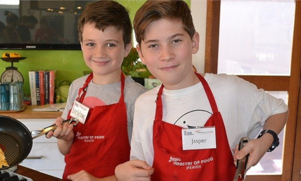 Jamie's Ministry of Food's National online School Holiday Program is back!
