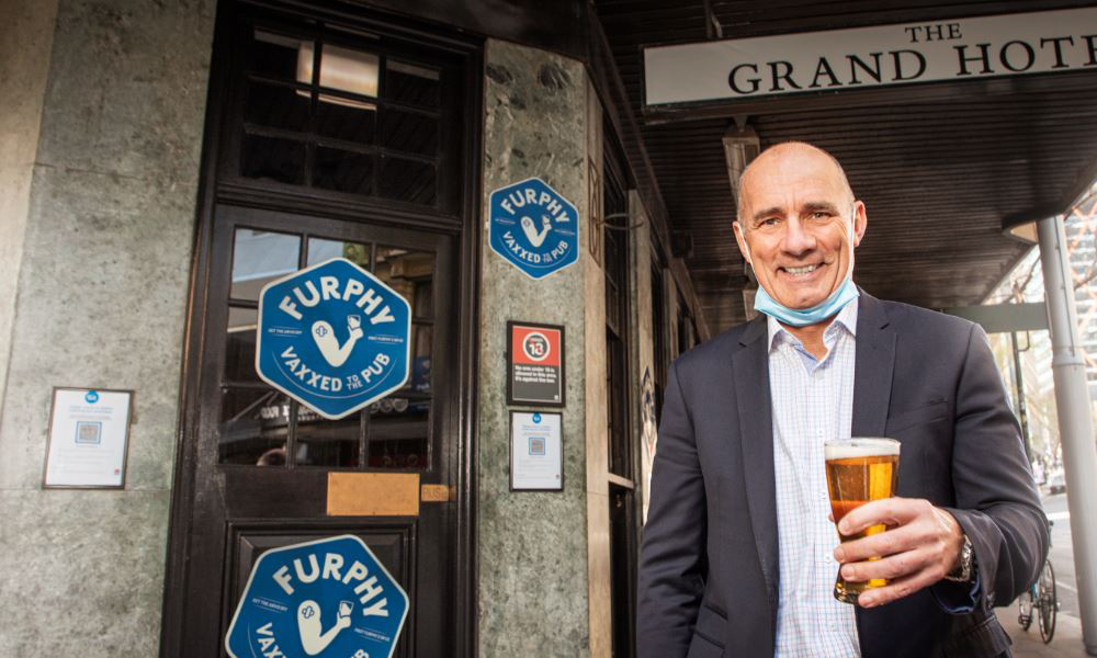The beers are on us: Furphy shouts free beer for vaxxed Aussies