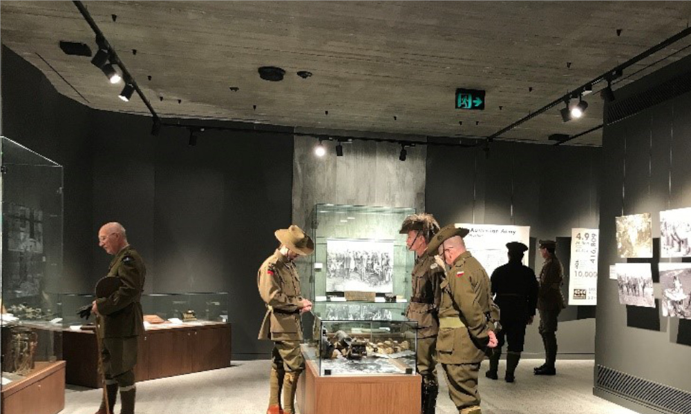 Rocky Hill War Memorial Museum exhibition nominated for Museums & Galleries Imagine Award