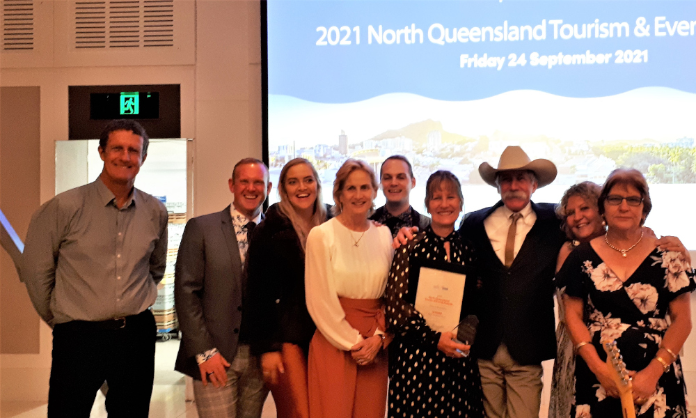 Charters Towers Region recognised at 2021 North Queensland Tourism and Events Awards