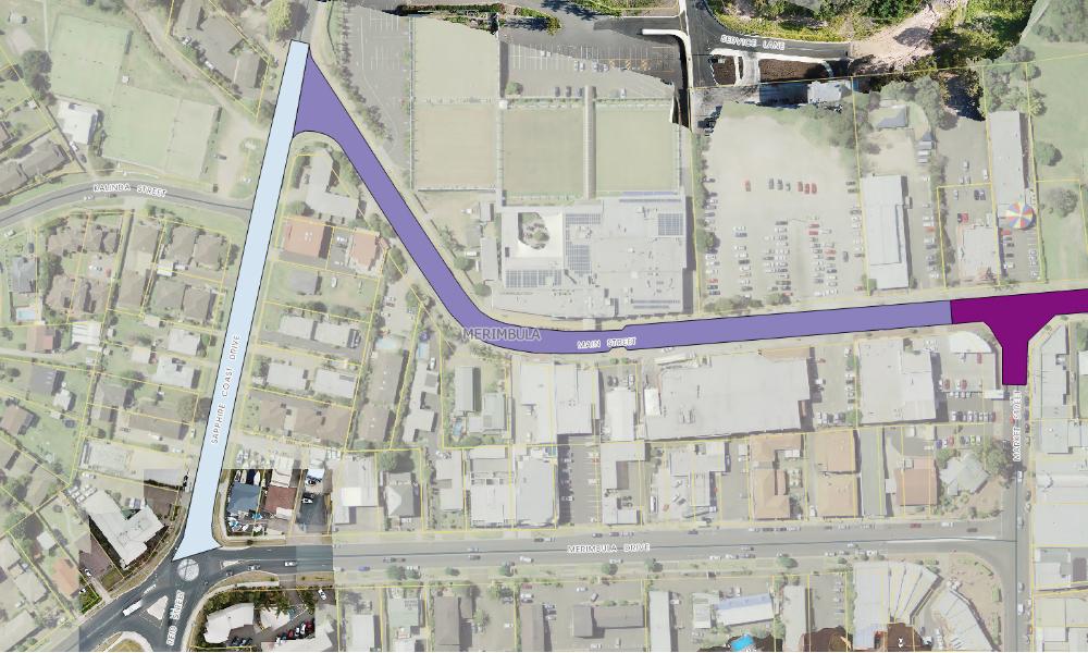 Road improvements for Merimbula CBD