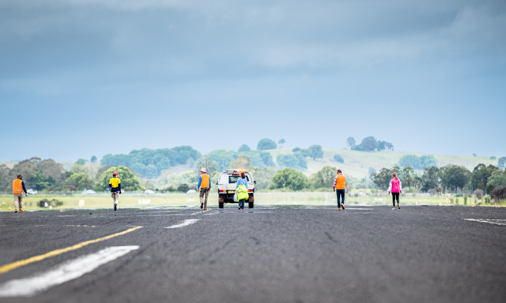 Promoting runway safety at Lismore Regional Airport